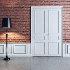 Межкомнатные полуторные двери