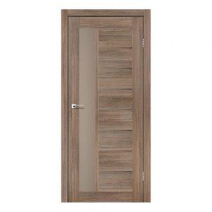 Межкомнатная дверь Lorenza Серое дерево тм Leador
