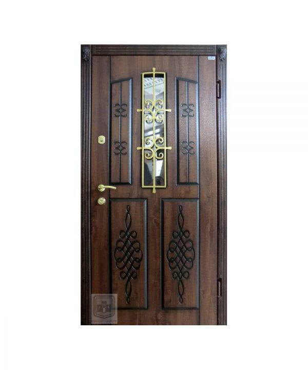 Входная двери Форт Нокс Коллекция Стеклопакеты 16